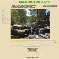 Friends of the Santa Fe River Home Page