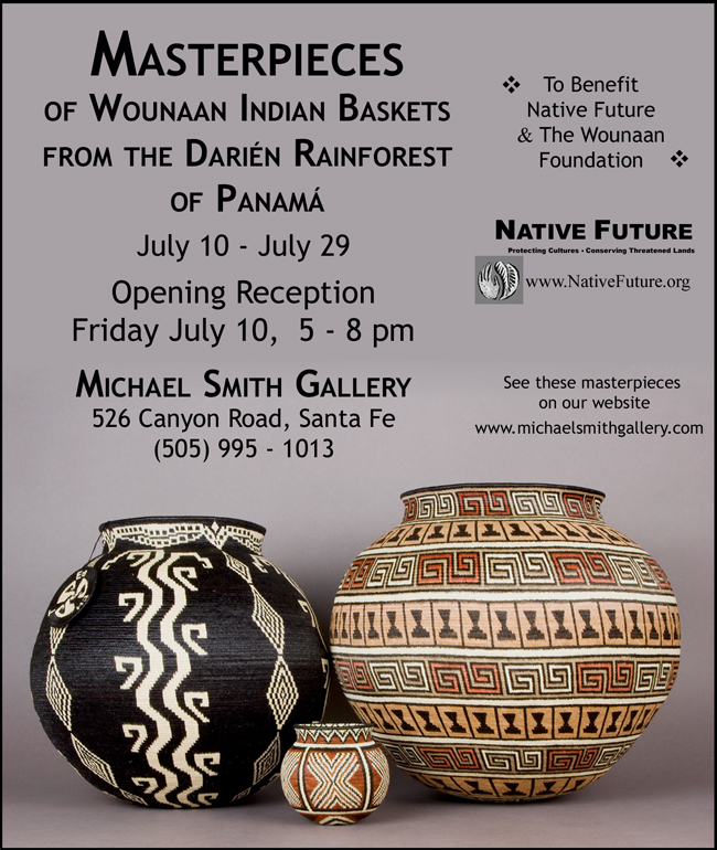 2009 Benefit Show for the Wounaan Foundation hosted by Michael Smith Gallery