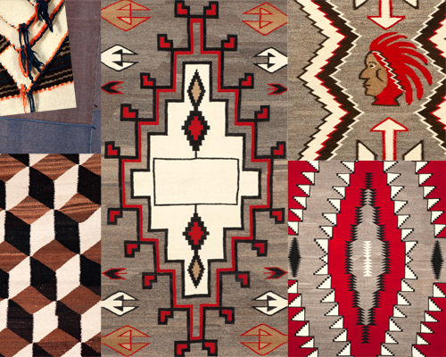 Antique Navajo and Pueblo Textiles