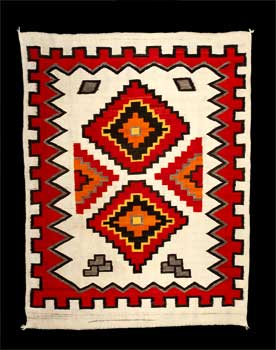 A Navajo Rug from Hubbell Trading Post