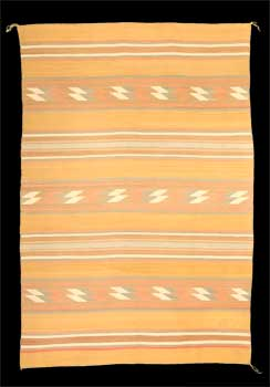 A Navajo Rug from Chinle Trading Post