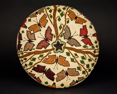 #4970 PI 9 1/2 x 11 1/2 inch Butterflies and Flowers